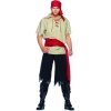 Cut Throat Pirate Adult Costume